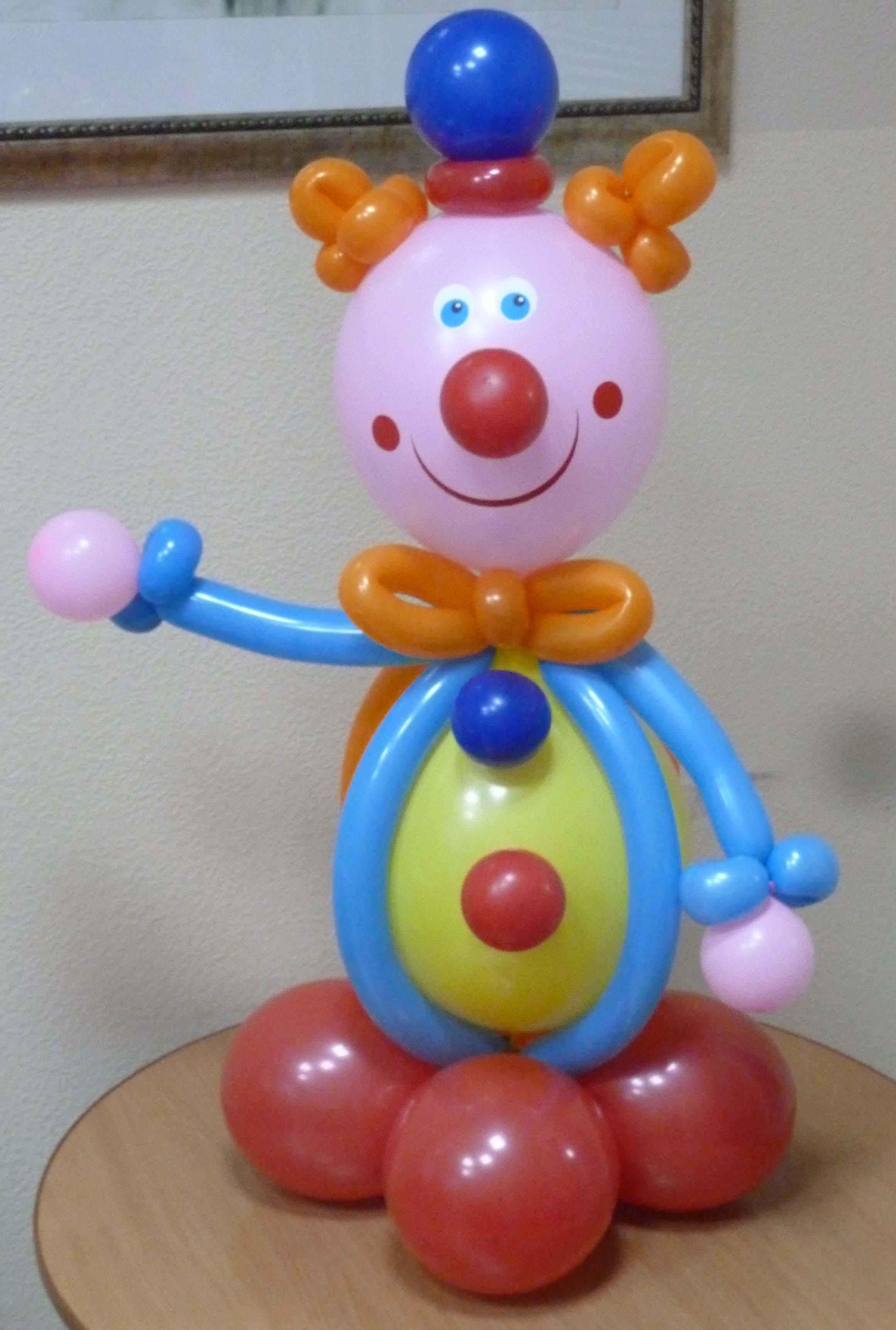Сделать клоуна из шариков своими руками 39